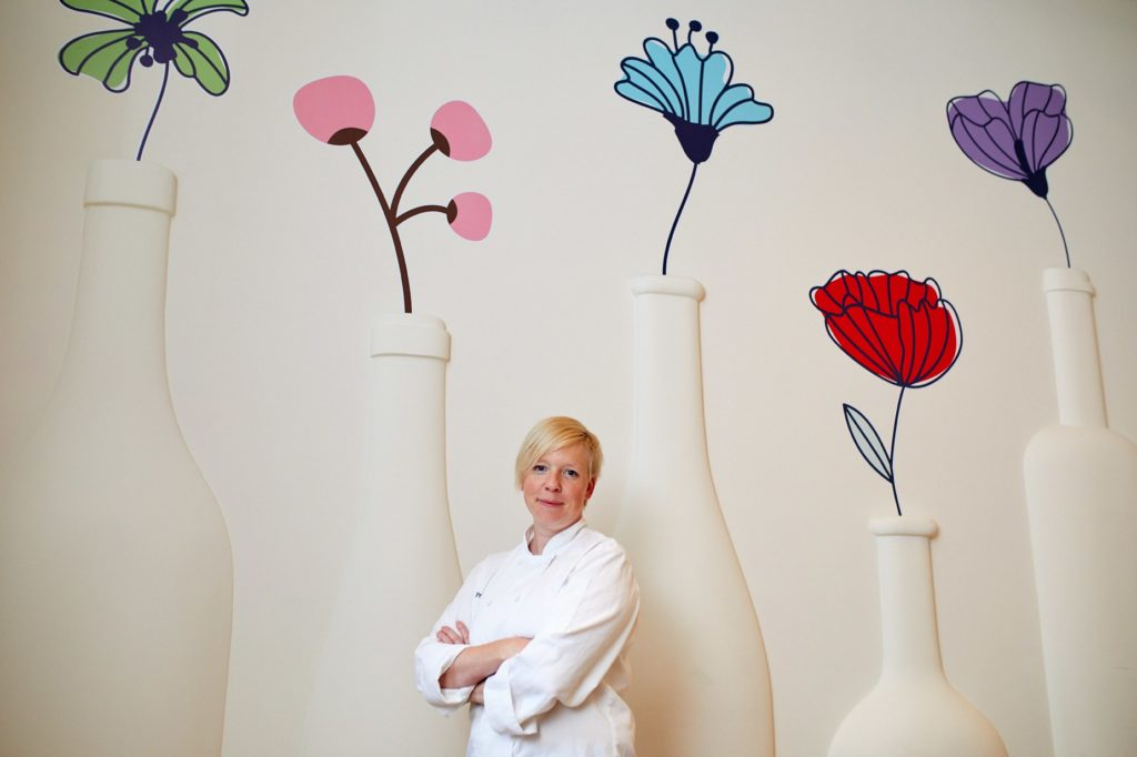 Priska Thuring, chef restorana Dubravkin put