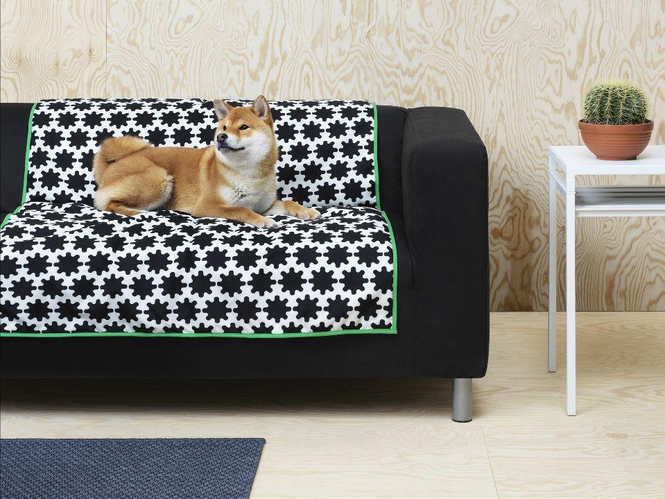 Kolekcija LURVIG uključuje krevet za pse i kućice za mačke, prekrivače i jastuke, zdjele za hranu i vodu, razne igračke, ali i ovratnike, povodce te četke za njegovanje dlake ljubimaca