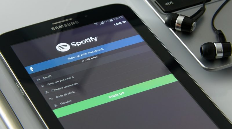 music on your smartphone, spotify,