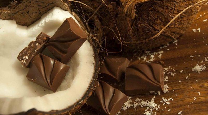chocolate, čokolada, kokos, mousse, bez glutena, bez šećera, bez brašna, recepti za desert