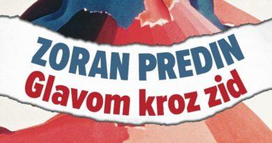 """Fraktura objavila knjigu """"Glavom kroz zid"""" Zorana Predina"""