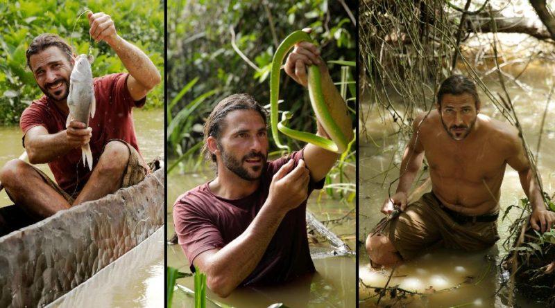 Hazen Audel, Preživljavanje u divljini: Legenda o kanibalima