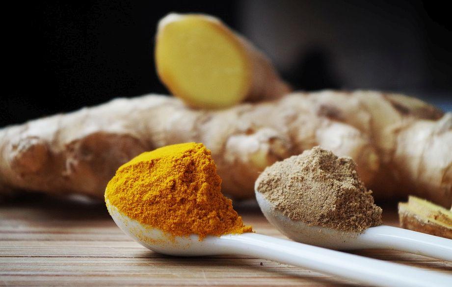 ginger, turmeric, curcumin, curcuma longa