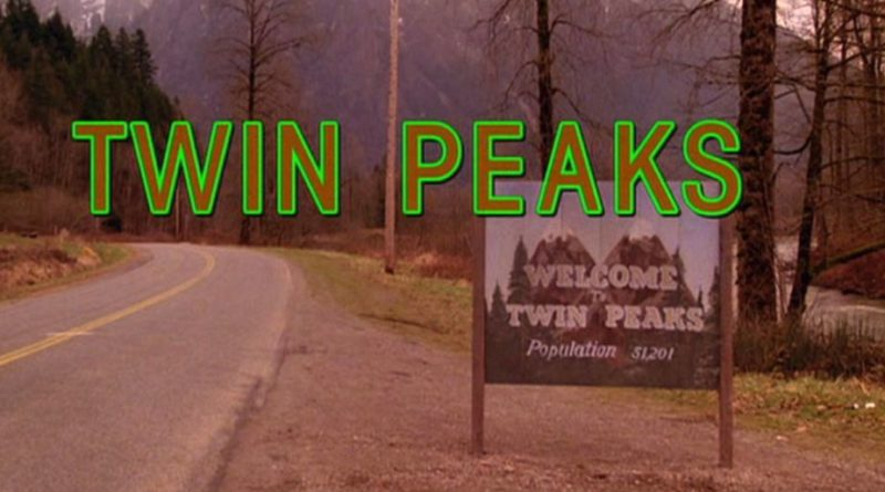 The title scene from the pilot episode of the television series 'Twin Peaks,' originally broadcast on April 8, 1990. It was filmed on Reinig Road in Snoqualmie, Washington. (Photo by CBS Photo Archive/Getty Images)