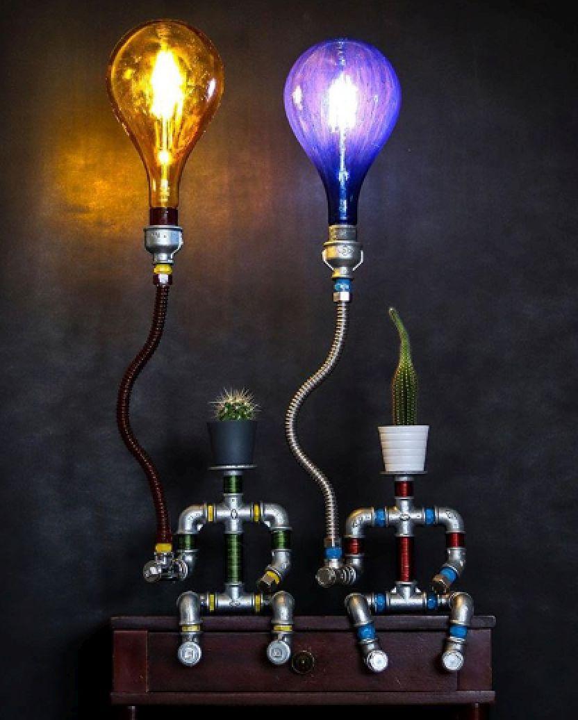 ceko lamps, Jasen Čeko, indsutrijski stil, lampe
