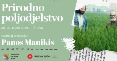 """UZGOJ BILJA BEZ RADA Seminar """"Prirodno poljodjelstvo"""" u Rijeci vodi poznati Panos Manikis"""